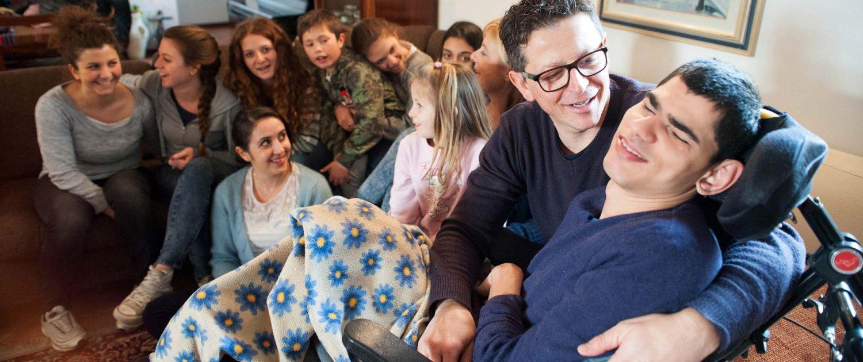 Casa Famiglia che accoglie ragazzi con disabilità e in difficoltà