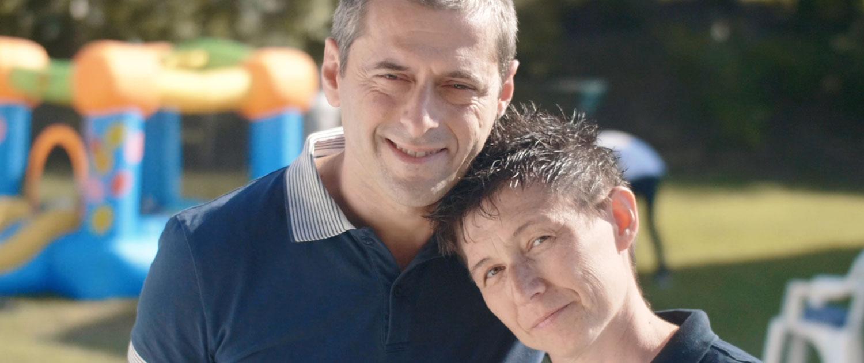 Francesco e Monica papà e mamma di Casa Famiglia